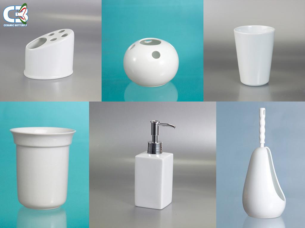 Stampa su ceramica - accessori bagno